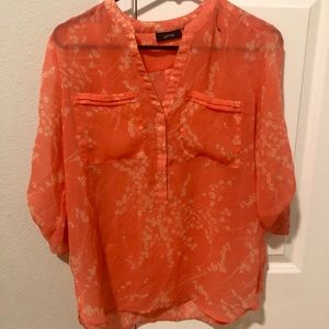 Apt 9 sheer blouse size small
